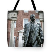Thurgood Marshall Memorial Tote Bag