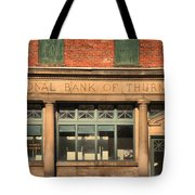 Thurmond Bank Of West Virginia Tote Bag