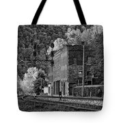 Thurmond Wv Monochrome Tote Bag