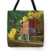 Thurmond Wv - Paint Tote Bag