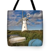 Thurne Dyke Windpump Norfolk Tote Bag