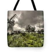 Thurne Wind Pump Tote Bag