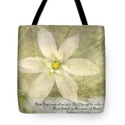 Thy Thoughts Tote Bag