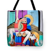 Thy Will Be Done  Tote Bag by Anthony Falbo
