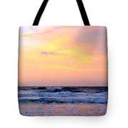 Topsail Island Pastel Sunrise Tote Bag