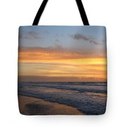 Topsail Island Sunup 2 Tote Bag
