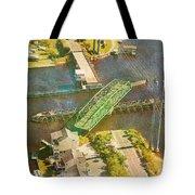 Ti Swingin' Swing Bridge Tote Bag
