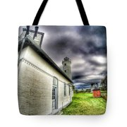 Tibbits Point Lighthouse Tote Bag