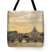 Tiber River Tote Bag