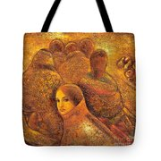 Tibet Golden Times Tote Bag