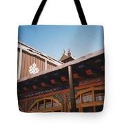 Tibet Potala Palace 8 Tote Bag
