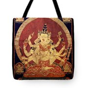 Tibetan Art Tote Bag