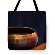 Tibetan Singing Bowl Tote Bag
