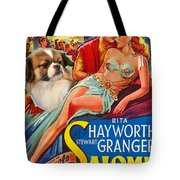 Tibetan Spaniel Art - Salome Movie Poster Tote Bag