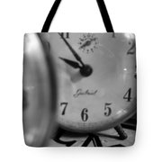 Tick Tock Goes The Clock Tote Bag