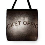 Ticket Office Window Tote Bag
