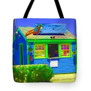Ticket Shack Tote Bag