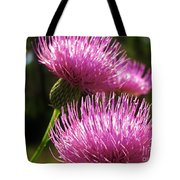 Tickled Thistle Tote Bag