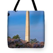 Tidal Basin Cherry Blossoms #2 Tote Bag
