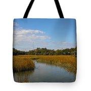 Tidal Creek Ebb And Flow Tote Bag