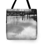 Tide Flats Marina Tote Bag