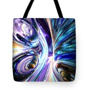 Tide Pool Abstract Tote Bag
