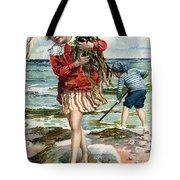 Tide Pools At The Beach Tote Bag