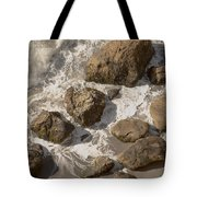 Tide Pools Of Shell Beach California Tote Bag