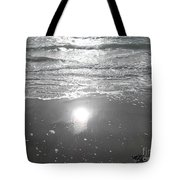 Tide Waits For No One Tote Bag