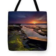 Tidepool Sunsets Tote Bag