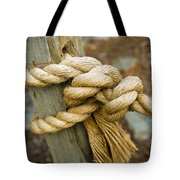 Tie The Knot Tote Bag