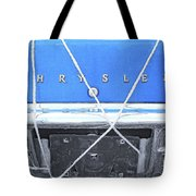 Tied Down Trunk Tote Bag