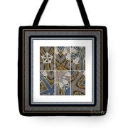 Tied To My Concrete Garden - Kaleidoscope - Hexaptych Tote Bag