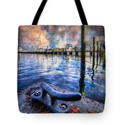Tied To My Heart Tote Bag