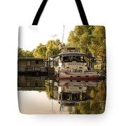 Tied Up Atchafalaya Swamp Louisiana Tote Bag