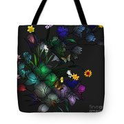 Tiffany Floral Design Tote Bag