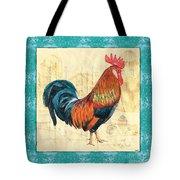 Tiffany Rooster 1 Tote Bag by Debbie DeWitt