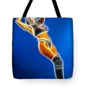 Tiffany Superman 1 Fractal Tote Bag