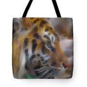 Tiger-5344-fractal Tote Bag