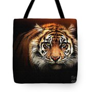 Tiger Bright Tote Bag