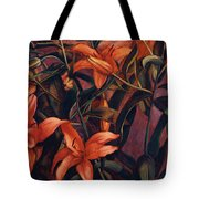 Tiger Lilies Tote Bag
