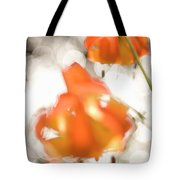 Tiger Lillies Near The Rogue Wild River Tote Bag