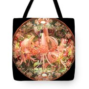 Tiger Lily Sphere Tote Bag
