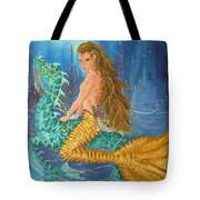 Tiger Lily Tails Tote Bag