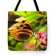 Tiger Mimic Butterfly Tote Bag