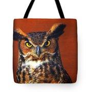 Tiger Owl Tote Bag