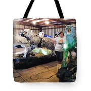 Tiger Project Work Space Tote Bag