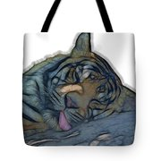 Tiger R And R V4 Tote Bag