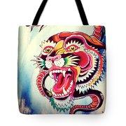 Tiger Snake Tote Bag
