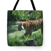 Tiger Stroll Tote Bag